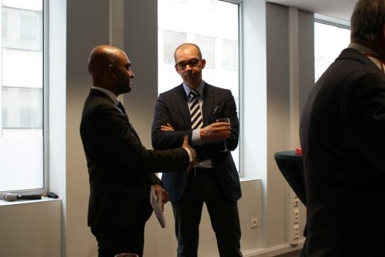 Niklas Nordstrom, Partnar at Prime & Suren Thiru, UK Economic Advisor at the British Chambers