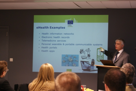 EU Committee Breakfast Briefing with Tapani Piha - Head of Unit, Health Technology and Risk Assessment and Science, DG Health and Consumers, European Commission