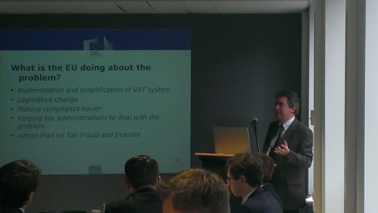 EU Committee Business Lunch with Thomas Carroll - Head of Unit Taxation and Customs, DG TAXUD, European Commission
