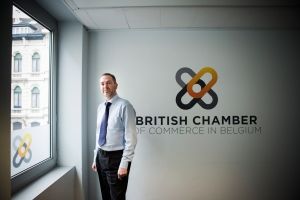 29-04-2015 : Glenn Vaughan van de British Chamber of Commerce in Belgium