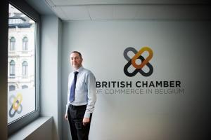 29-04-2015 : Glenn Vaughan van de British Chamber of Commerce in Belgium